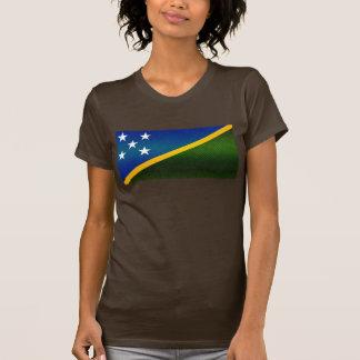 Modern Stripped Solomon Islander flag T-Shirt