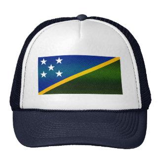 Modern Stripped Solomon Islander flag Trucker Hat