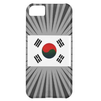 Modern Stripped South Korean flag iPhone 5C Case