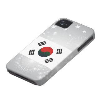 Modern Stripped South Korean flag Blackberry Bold Cover