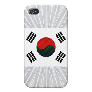 Modern Stripped South Korean flag iPhone 4/4S Cover