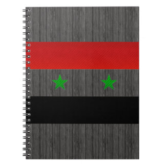 Modern Stripped Syrian flag Notebook