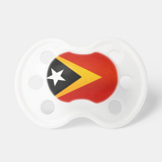 Modern Stripped Timorese flag Baby Pacifier