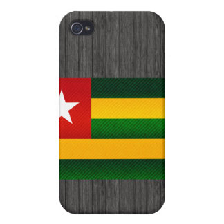 Modern Stripped Togolese flag Cases For iPhone 4