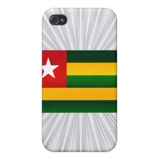 Modern Stripped Togolese flag iPhone 4/4S Cover