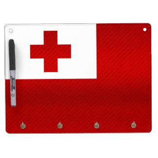 Modern Stripped Tongan flag Dry Erase Boards