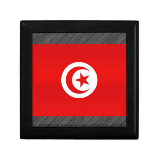 Modern Stripped Tunisian flag Jewelry Box