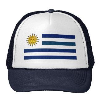 Modern Stripped Uruguayan flag Mesh Hat