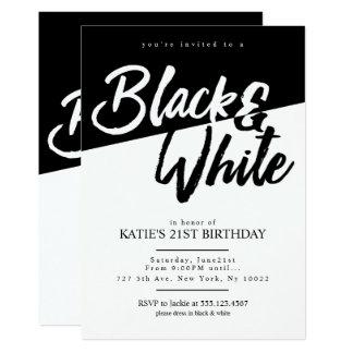 Black Bachelor Party Invitations Announcements Zazzle