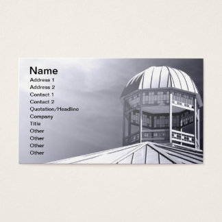 modern style cupola business card