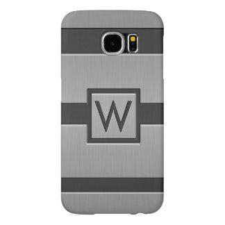 Modern Style Monogram Samsung Galaxy S6 Case