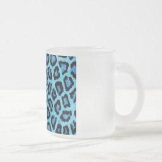 Modern Style 10 Oz Frosted Glass Coffee Mug