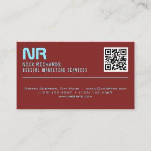 Digital Marketing Business Cards Zazzle