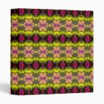 Modern stylish abstract pattern binder