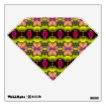 Modern stylish abstract pattern room decal