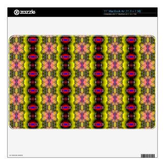 "Modern stylish abstract pattern 11"" MacBook air skins"