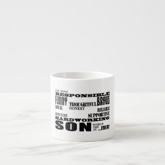 Modern Stylish Best & Greatest Sons  Qualities Espresso Cup