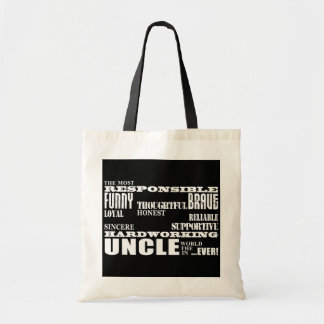 Modern Stylish Best & Greatest Uncles : Qualities Bag