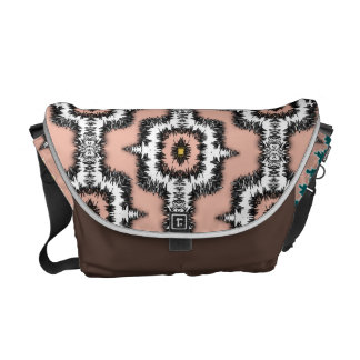 Modern Stylish Moroccan Style Repeat Patterned Courier Bag
