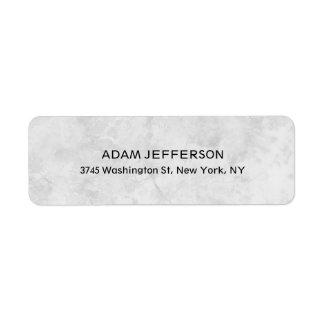 Modern Stylish Trendy Unique Special Gray Label