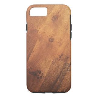 Modern Stylish Wood Grain Wood Look iPhone 7 Case