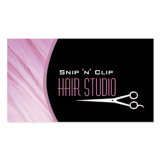 Modern Stylist Salon Appointment Business Card