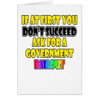 modern success business humor card