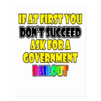 modern success business humor post card