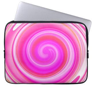Modern Swirl Abstract Art #2 Laptop Sleeve