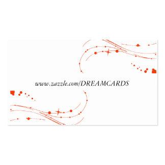 Modern Swirl Design Business Cards
