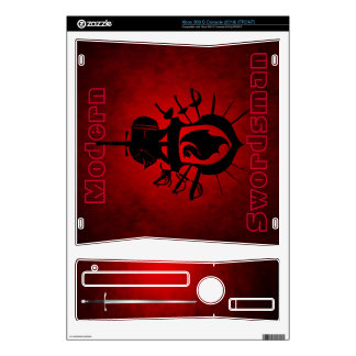 Modern Swordsman Warrior Red Xbox Skin Skins For The Xbox 360 S
