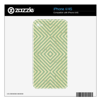 modern,teal,beige,graphic design,pattern,cute,fun decals for iPhone 4