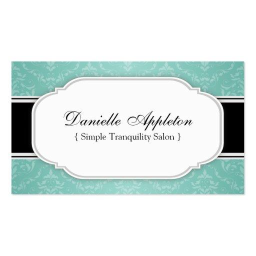 Spa Salon Business Card Templates Standard Size Page3