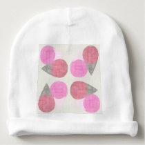 Modern Teardrop Pattern Baby Beanie