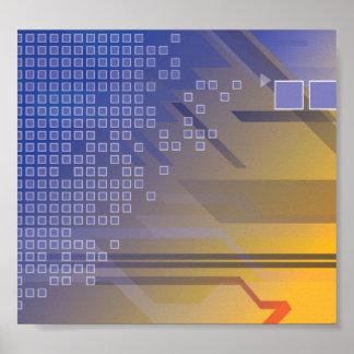 Modern Tech Poster