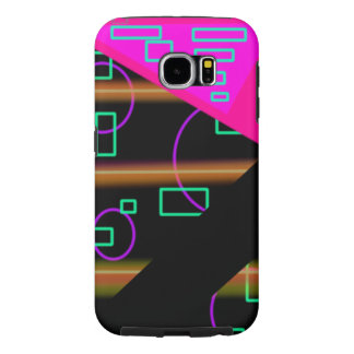 Modern Techno Neon Samsung Galaxy S6 case