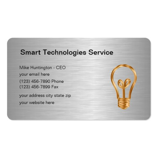 Modern Technology Business Cards