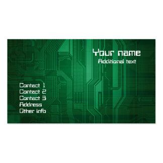 Modern technology theme business card