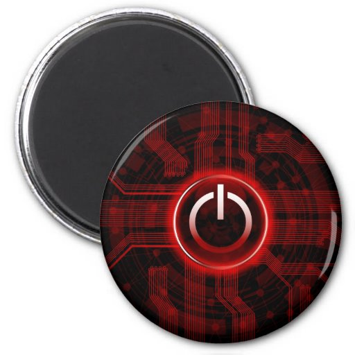 modern technology theme design magnet