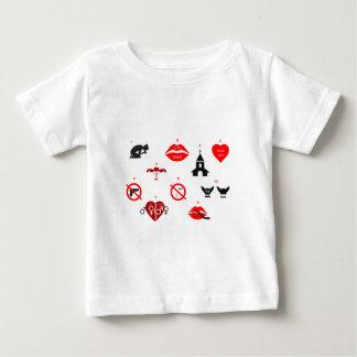 modern ten commandments baby T-Shirt