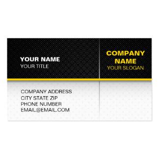 Modern textured card design business cards