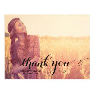MODERN THANK YOU | 2015 GRADUATION POST CARD