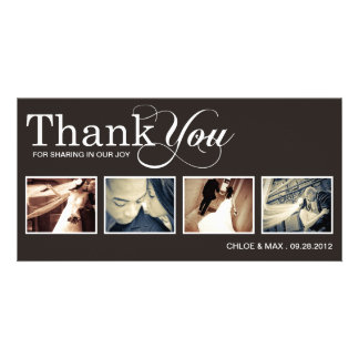 MODERN THANKS | WEDDING THANK YOU CARD