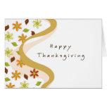 Modern Thanksgiving Greeting Card