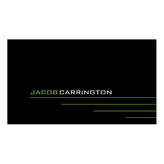 Modern Thin Lines 447 Business Cards