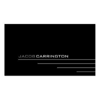 Modern Thin Lines 448 Business Card Template