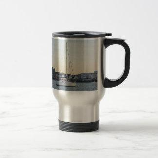 Modern Thirty Foot Yacht Travel Mug