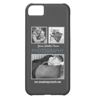 Modern Three Photos Photography Business iPhone 5C Cover