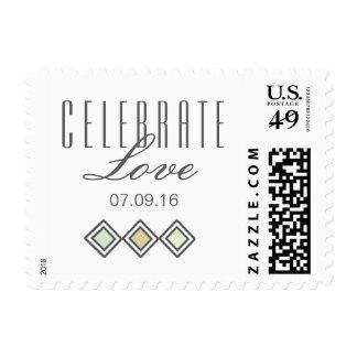 Modern Tiled Postage Stamp