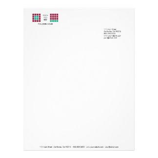 Modern Tiles Series No.11 Letterhead